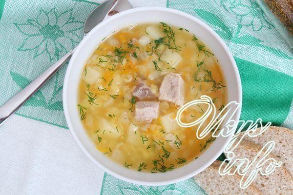 детские рецепты гороховый суп 2 года