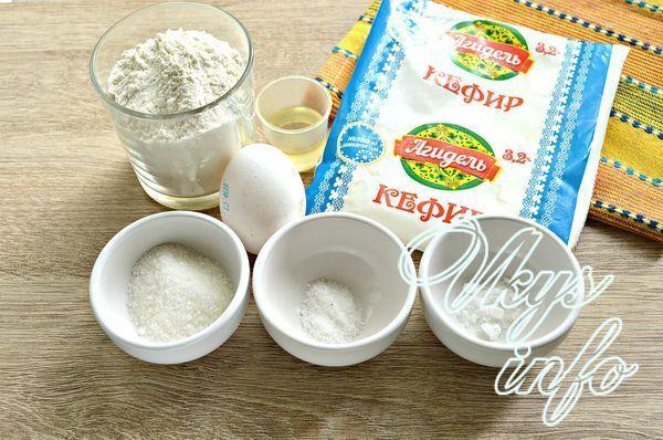 Мини блинчики на кислом кефире - рецепт пошаговый с фото