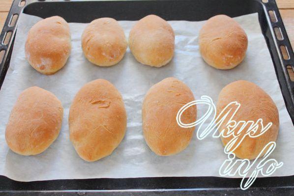 Постные дрожжевые пирожки с картофелем - рецепт пошаговый с фото